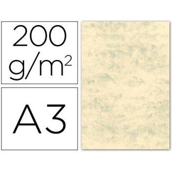 Cartulina marmoleada din a3 200 gr. gris paquete de 100 h