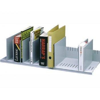 Organizador de armario fast- paperflow gris ajustable 802 mm