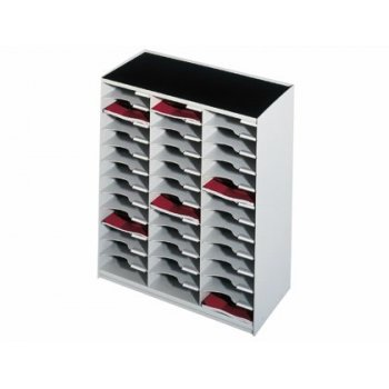 Modulo fast-paperflow monobloques 36 casillas gris