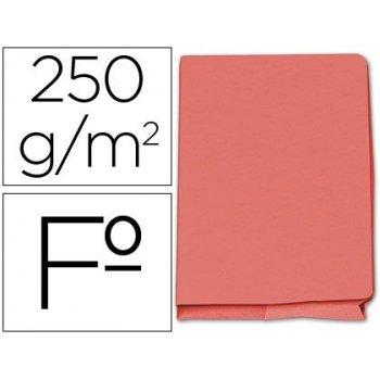 Subcarpeta cartulina gio folio pocket rojo con bolsa y solapa