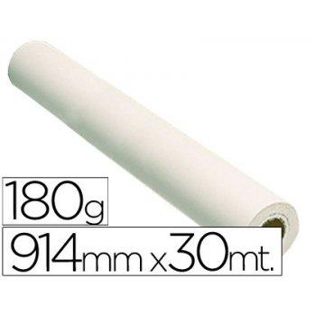 Papel reprografia fotografico 180 grs.para plotter papel fotografico blan.mate 914x30 mts 2880 dpi