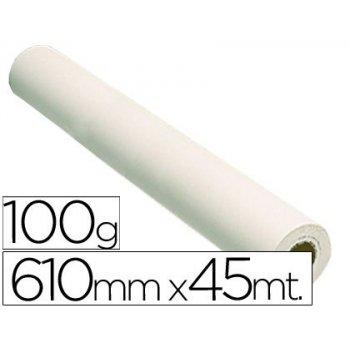 Papel reprografia grafic 100 grs. para plotter -papel estucado blanco mate 610x45 mts. 1440 dpi