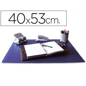 Vade sobremesa q-connect azul -40x53 cm