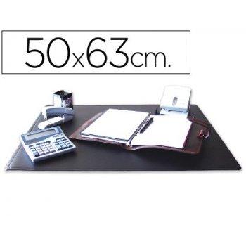Vade sobremesa q-connect negro -50x63 cm