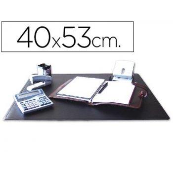 Vade sobremesa q-connect negro -40x53 cm