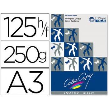 Papel fotocopiadora color copy glossy din a3 250 gramos paquete de 125 hojas