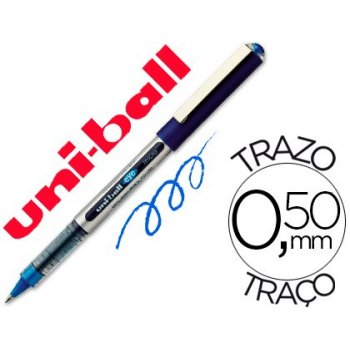 Rotulador uni-ball roller ub-150 micro eye azul 0.5 mm -unidad