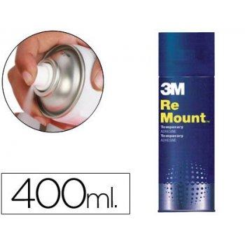 Pegamento scotch spray remoun 400 ml adhesivo reposicionable indefinidamente