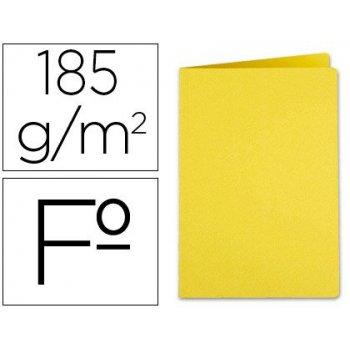 Subcarpeta liderpapel folio amarillo intenso 185g m2