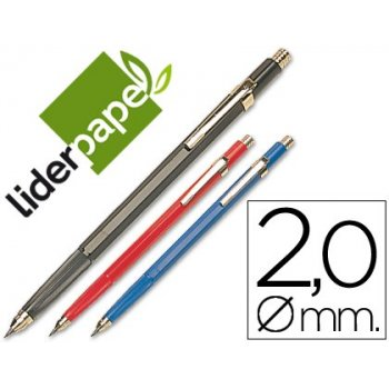 Portaminas liderpapel grafo 2 mm. -unidad