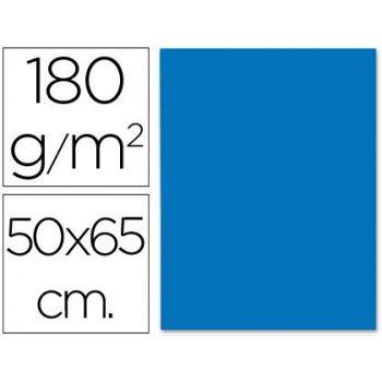 Cartulina liderpapel 50x65 cm 180g m2 azul turquesa