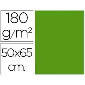 Cartulina liderpapel 50x65 cm verde navidad 180 gr unidad