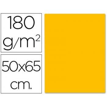 Cartulina liderpapel 50x65 cm 180g m2 naranja fuerte