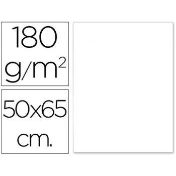 Cartulina liderpapel 50x65 cm 180g m2 blanco