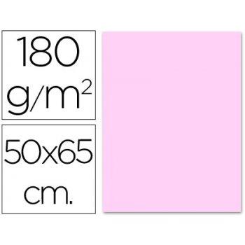 Cartulina liderpapel 50x65 cm 180g m2 rosa