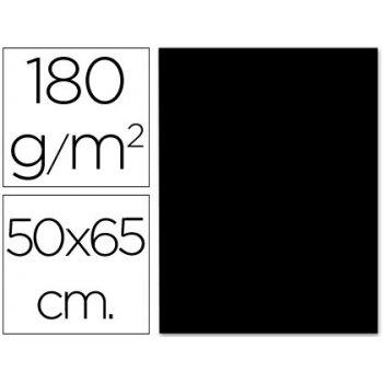 Cartulina liderpapel 50x65 cm 180g m2 negro