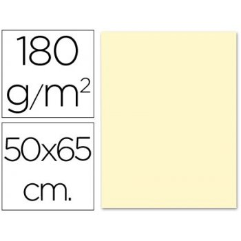 Cartulina liderpapel 50x65 cm 180g m2 crema