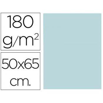 Cartulina liderpapel 50x65 cm 180g m2 azul