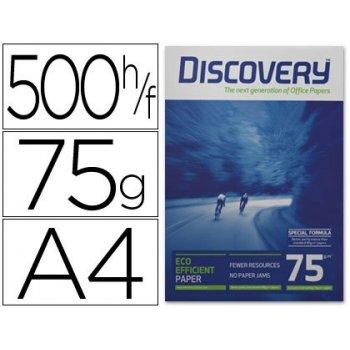 Papel fotocopiadora discovery din a4 75 gramos papel multiuso ink-jet y laser-paquete de 500 hojas