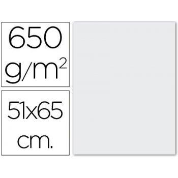 Cartulina extra 51x65 650 grs. -blanca -unidad