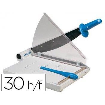 Cizalla kobra 360-a din a4 -sistema de corte palanca con guillotin de hoja -capacidad 20 30 hojas