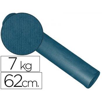 Papel fantasia kraft liso kfc -bobina 62 cm -7 kg -color cobalto
