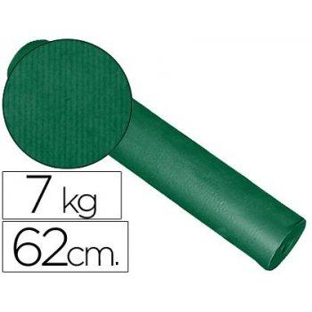 Papel fantasia kraft liso kfc -bobina 62 cm -7 kg -color verde