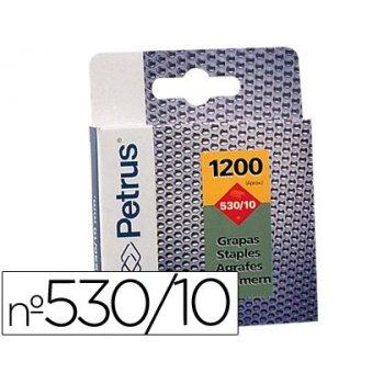 Grapas petrus nº 530 10 -caja de 1200 grapas