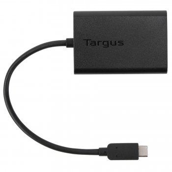 Targus ACA44EUZ adaptador de cable USB-C Negro