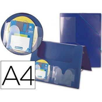 Carpeta beautone portadocumentos 36902 polipropileno din a4 azul lomo 50 mm