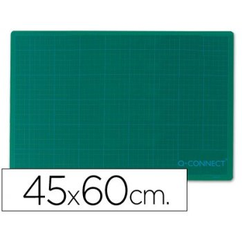 Plancha para corte q-connect -tamaño 450x600 mm a-2 verde