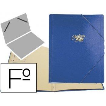 Carpeta clasificador carton compacto saro folio azul -12 departamentos