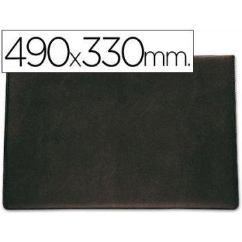 Vade sobremesa saro lujo 710 negro -tamaño 490x330 cm