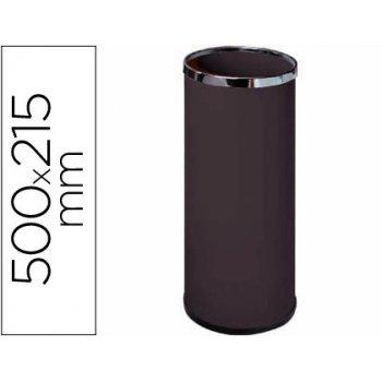 Paraguero metalico 301 negro medida 50x21,5 -aros cromo