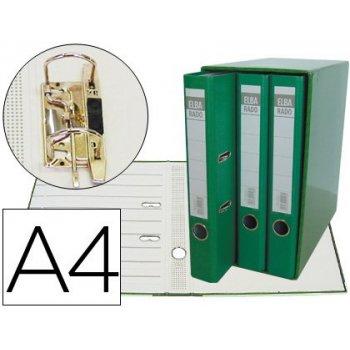 Modulo elba 3 archivadores de palanca din a4 2 anillas verde lomo de 50 mm
