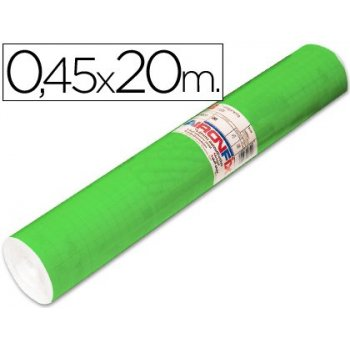 Rollo adhesivo aironfix unicolor verde medio 67005 -rollo de 20 mt