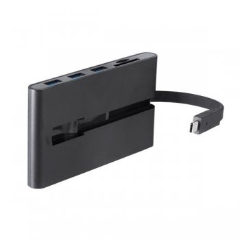 StarTech.com Replicador de Puertos USB-C para Portátiles - Docking Station USB Tipo C HDMI VGA GbE con Lector de Tarjetas SD -