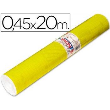 Rollo adhesivo aironfix unicolor amarillo brillo 67007-rollo de 20 mt