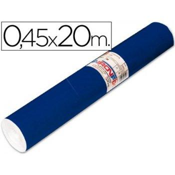 Rollo adhesivo aironfix unicolor azul mate oscuro 67150 -rollo de 20 mt