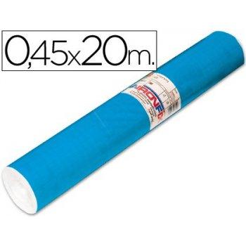 Rollo adhesivo aironfix unicolor azul mate medio 67014-rollo de 20 mt