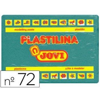 Plastilina jovi 72 verde oscuro -unidad -tamaño grande