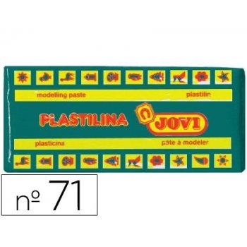 Plastilina jovi 71 verde oscuro -unidad -tamaño mediano
