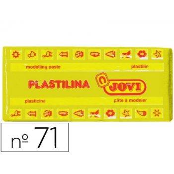 Plastilina jovi 71 amarillo oscuro -unidad -tamaño mediano
