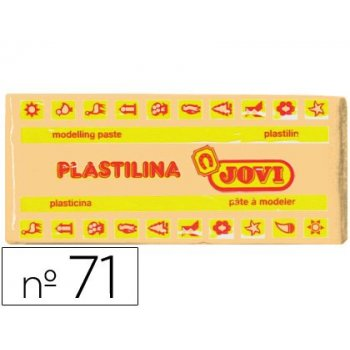 Plastilina jovi 71 carne -unidad -tamaño mediano