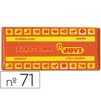 Plastilina jovi 71 naranja -unidad -tamaño mediano