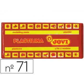 Plastilina jovi 71 marron -unidad -tamaño mediano