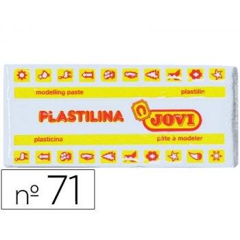 Plastilina jovi 71 blanco -unidad -tamaño mediano