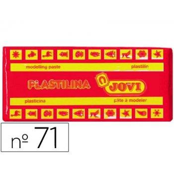 Plastilina jovi 71 rojo -unidad -tamaño mediano