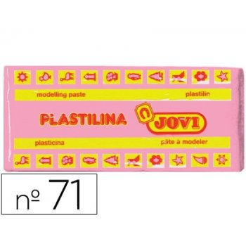 Plastilina jovi 71 rosa -unidad -tamaño mediano