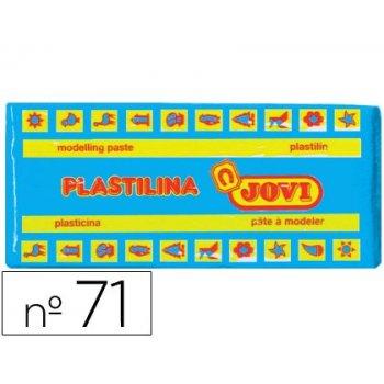 Plastilina jovi 71 azul claro -unidad -tamaño mediano